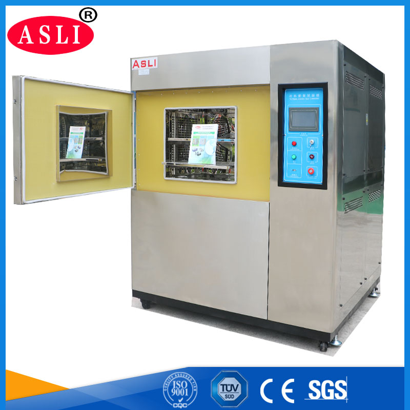 3 Cabinets Thermal Shock Climate Test Chamber
