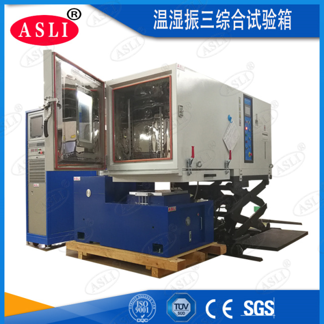 Vertical & Horizontal Temperature Humidity Climatic Vibration Resistance Test Cabinets